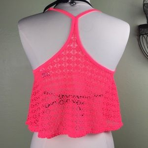 PINK Victoria's Secret Swimsuit Top Coverup